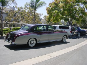 Rolls Phantom side